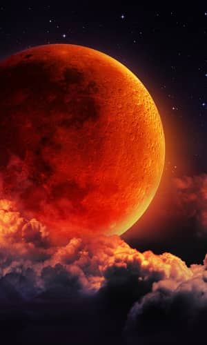 Did the Moon Appear as Blood on the Night of the Crucifixion?